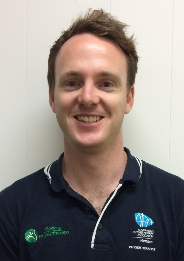 NICK HOLMES from Geelong Physiotherapy